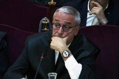 Xavier Melero, abogado de Joaquim Forn, ayer en el juicio del 'procés'.