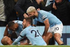 El Manchester City, a un paso de revalidar la Premier tras ganar al Leicester