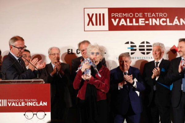 Alberto Di Lolli. 06/04/2019, Madrid. XIII Premio Valle Inclan de...