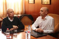 Antonio Suárez Santana y Luis Rubiales, en una imagen de archivo.