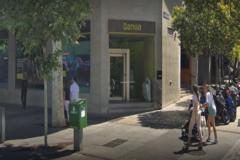 Sucursal de Bankia en la calle Serrano, en Madrid.