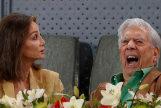 Isabel Preysler y Mario Vargas Llosa disfrutan del Madrid Mutua Open