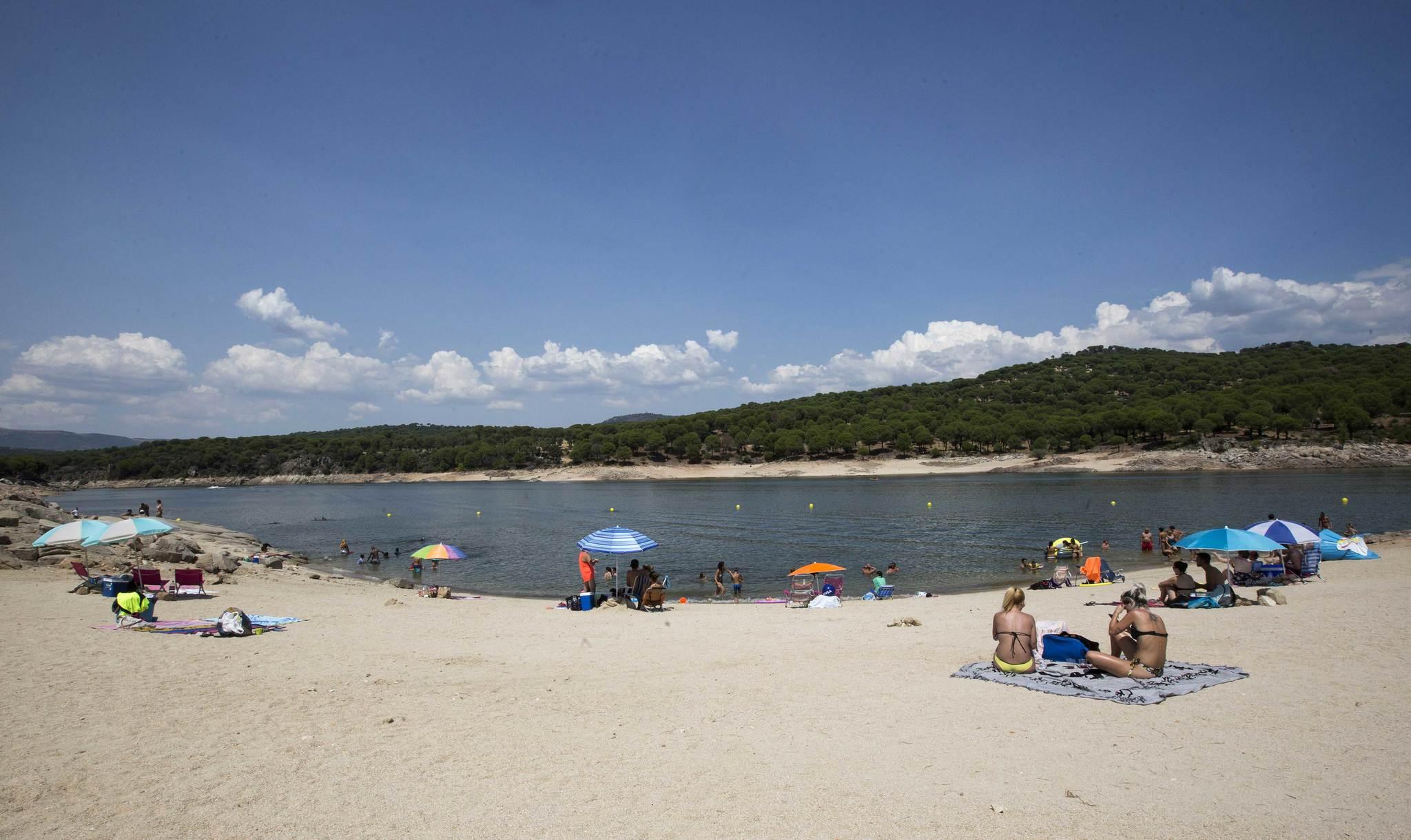 La playa de San Martín de Valdeiglesias