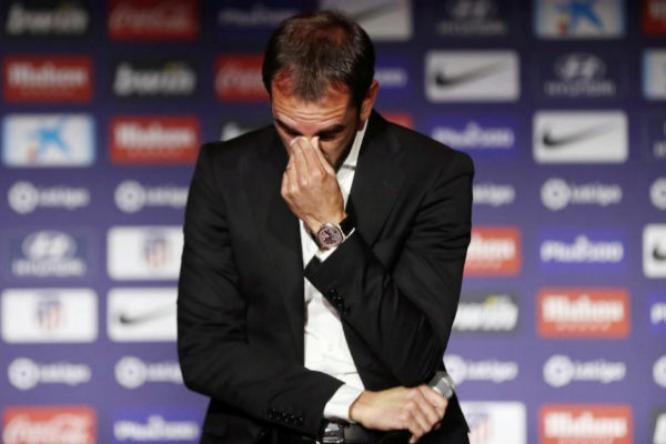 Atletico Madrid Press Conference - Diego <HIT>Godin</HIT>