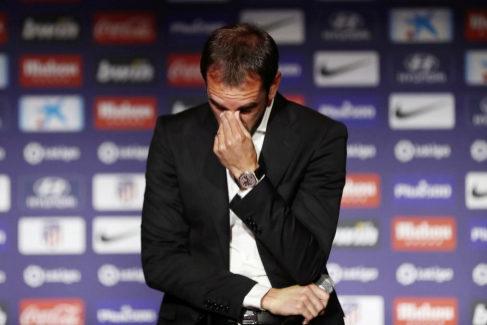 Atletico Madrid Press Conference - Diego <HIT>Godin</HIT>