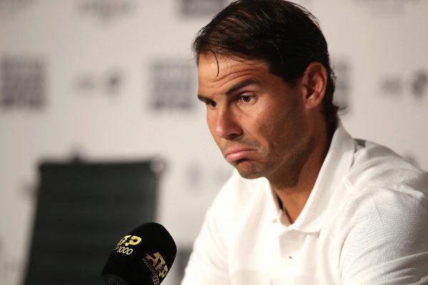 MADRID, SPAIN - MAY 07: Rafael <HIT>Nadal</HIT> of Spain attends a...