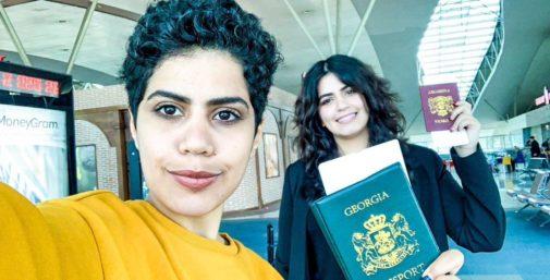 """Las hermanas saudíes que escaparon a Georgia: """"Hemos excedido todos los límites. Si nuestra familia nos localiza, nos matará"""""""