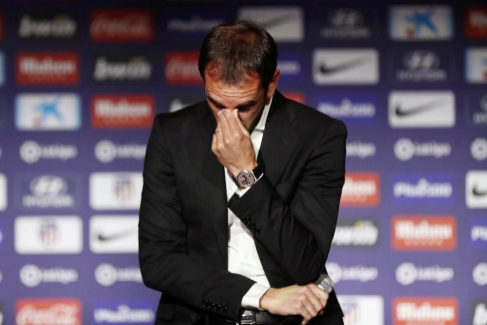 """Lágrimas en el adiós de Godín: """"Son mis últimos días"""""""