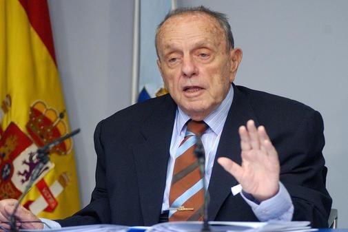 El ex presidente gallego Manuel Fraga