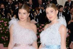 A la izquierda, Victoria Iglesias y a la derecha, su hermana Cristina