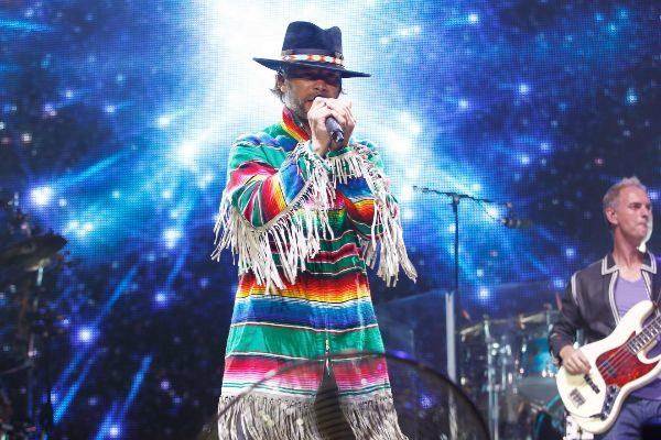 El líder de Jamiroquai Jay Kay durante una actuación reciente.