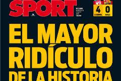 Así recoge la prensa deportiva la debacle del Barcelona en Anfield