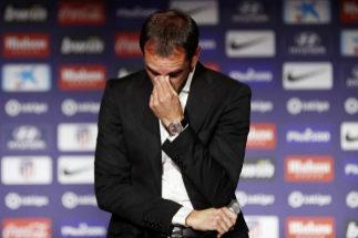 """Godín se despide entre lágrimas del Atlético: """"Son mis últimos días"""""""