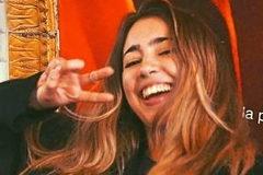 Natalia Sánchez Uribe, desaparecida en París.
