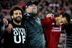La sonrisa de Klopp y la camiseta talismán de Salah