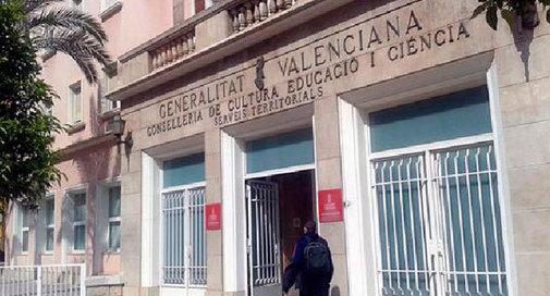 Dirección territorial de Educación en Castellón.