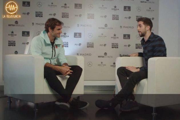 La entrevista de Roger Federer con David Broncano en La Resistencia en Movistar+