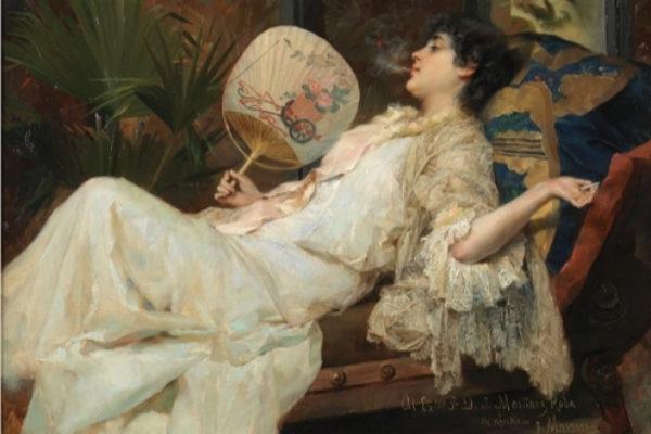 La mirada femenina más perversa y transgresora es foco de atracción en el Carmen Thyssen de Málaga
