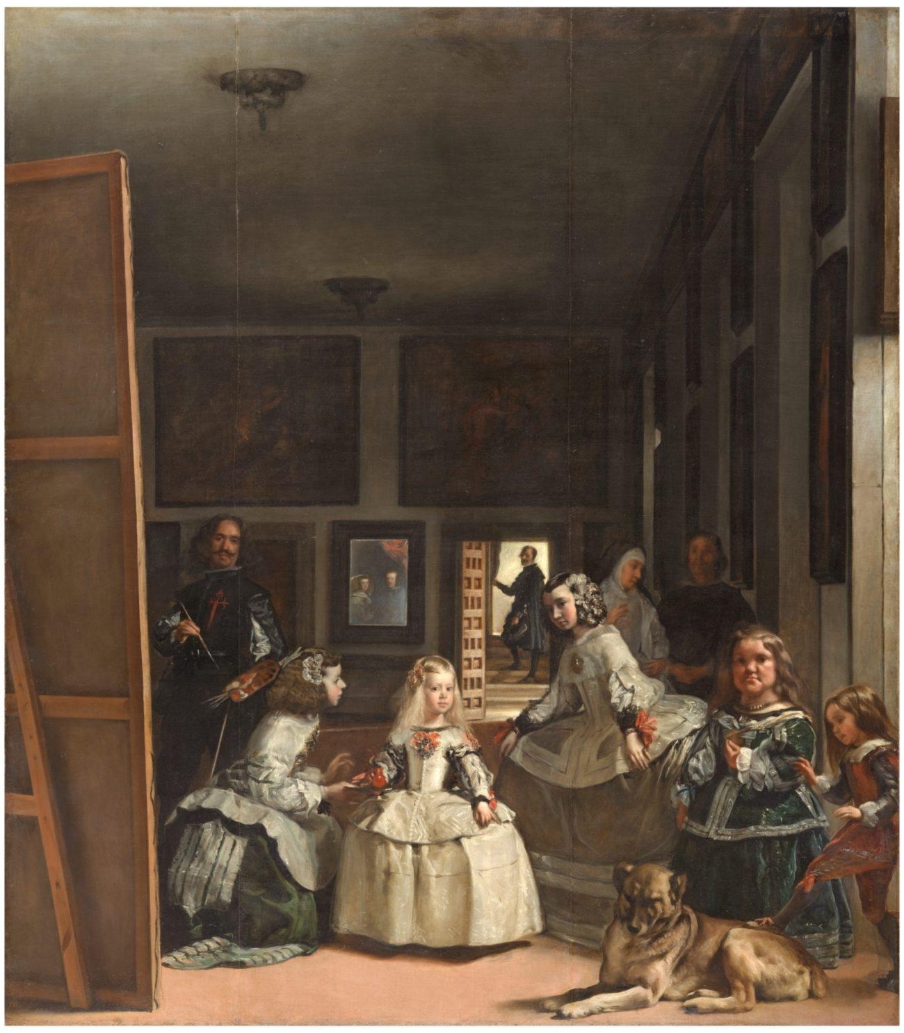La famosa obra de Velázquez es la más popular entre los visitantes....