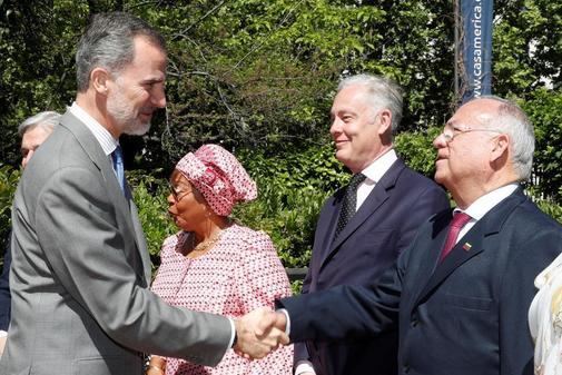 El Rey Felipe VI en la entrega de los premios de periodismo Don Quijote
