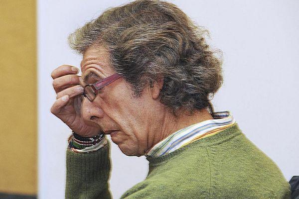 Juan Antonio Huidobro, en una sesión del juicio.