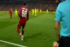 El Liverpool lo sabía: la intrahistoria de la jugada del año