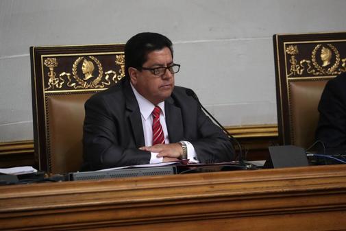 El primer vicepresidene de la Asamblea nacional venezolana, Edgar Zambrano, en una imagen reciente.