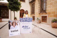 La candidata popular a la alcaldía de Valencia, María José Catalá, este miércoles.