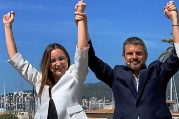 Beatriz Camiña y Marc Pérez Ribas.
