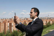 El candidato de Cs a la Comunidad de Madrid, Ignacio Aguado.