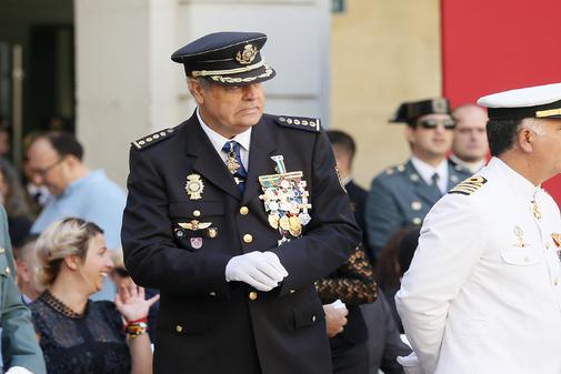 El comisario Anfonso Cid en una imagen reciente.