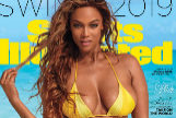 Tyra Banks, en la portada de 'Sport Illustrated' este mes.