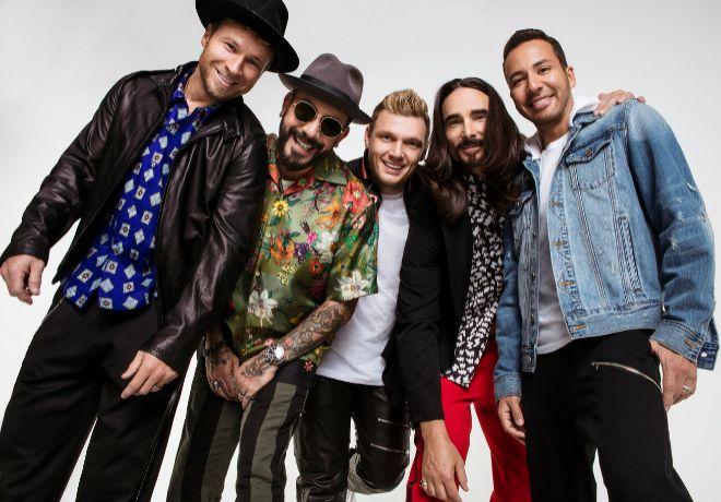 Vuelve la fiebre de los Backstreet Boys