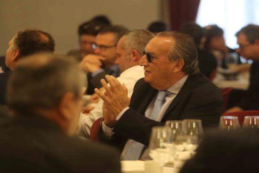 Carlos Fabra asistió al desayudo 'electoral' de la candidata del PP a la Alcaldía de Castellón en el Real Casino Antiguo de Castellón.