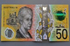 Faltas de ortografía en los billetes de 50 dólares