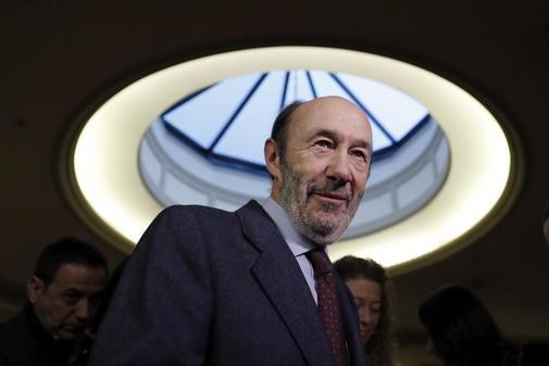 El ex dirigente socialista Alfredo Pérez Rubalcaba.