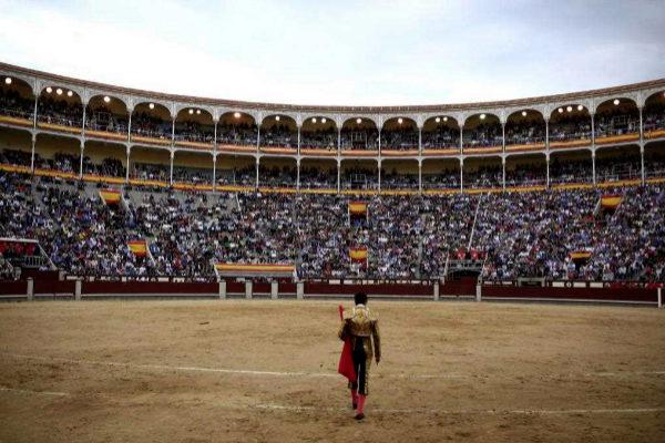 Instantánea de una tarde de toros en la pasada Feria de San Isidro.