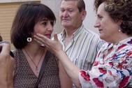 Juana Rivas, en julio del año pasado junto a la que fue su asesora, Francisca Granados.