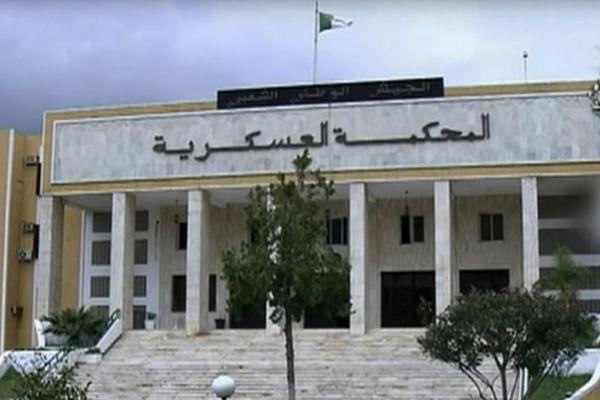 Sede del Tribunal Militar, en Argel.