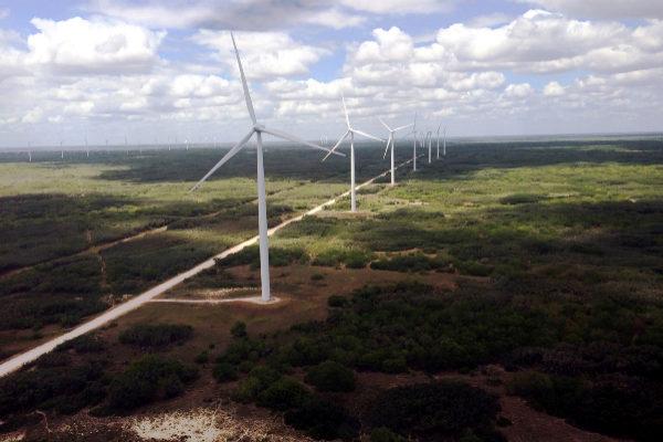 Complejo eólico Peñascal de Iberdrola en Texas (EEUU).