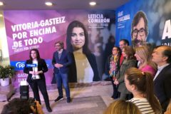 """Los candidatos del PP colocan Vitoria y Álava """"por encima"""" de su partido"""