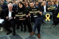 Arranque de campaña de ERC con el candidato Ernest Maragall