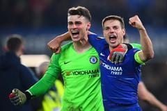 Kepa lleva al Chelsea a Bakú y certifica el pleno inglés en Europa