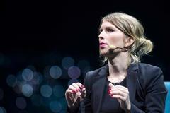 La ex analista de inteligencia Chelsea Manning, en un acto en Montreal (Canadá), en 2018.