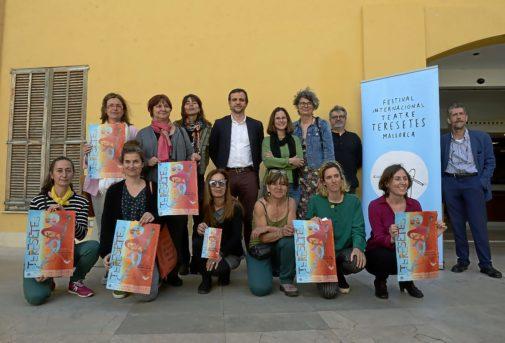 Presentación ayer del XXI Festival Internacional de Teresetes de Mallorca en la Esadib.