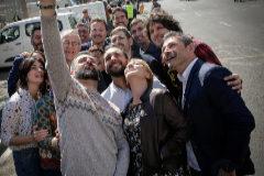 El equipo con el que Compromís concurrirá a las próximas elecciones municipales.  EL MUNDO