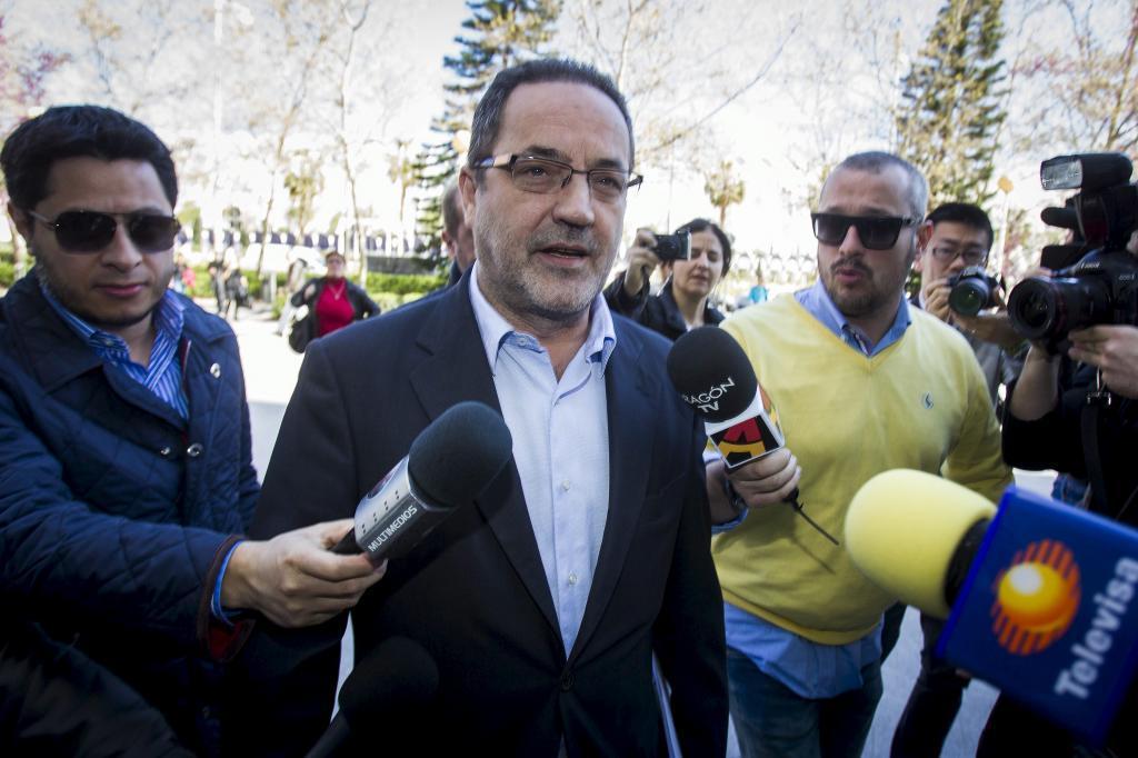 El empresario Agapito Iglesias, uno de los absueltos por la Audiencia de Zaragoza.