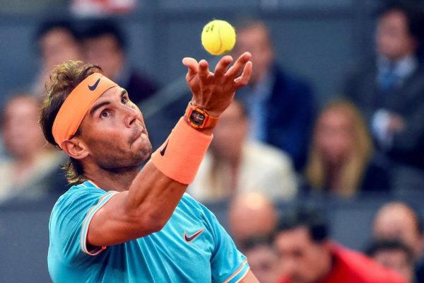 Rafa Nadal en el Mutua Madrid Open 2019