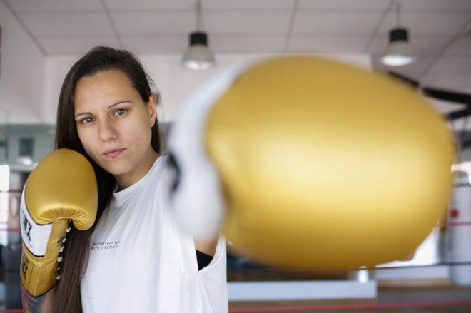la dieta de un boxeador profesional