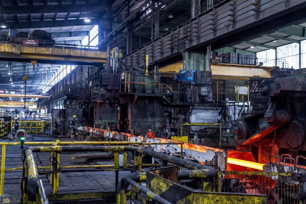 Empresa siderúrigica de Bizkaia.